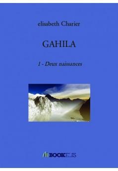 GAHILA - Couverture de livre auto édité