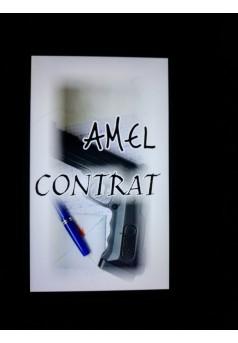 Contrat - Couverture Ebook auto édité