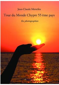 Tour du Monde Chypre 55 ème pays - Couverture de livre auto édité