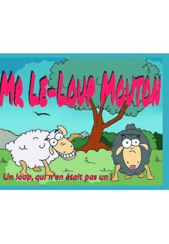 Mr Le-Loup Mouton - Couverture de livre auto édité