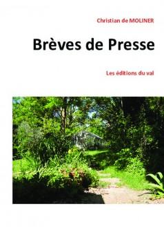 Brèves de Presse - Couverture de livre auto édité