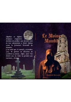 Le moine maudit - Couverture Ebook auto édité