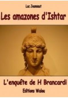 Les amazones d'Ishtar - Couverture Ebook auto édité