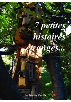 7 histoires étranges - Couverture de livre auto édité