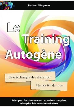 Le training autogène - Couverture de livre auto édité