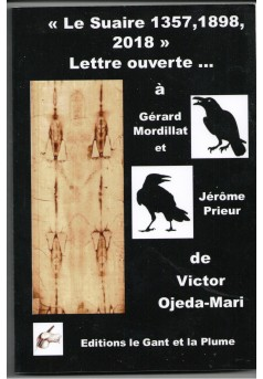 Le Linceul De Turin - Lettre ouverte … à Gérard Mordillat, Jérôme Prieur - Couverture Ebook auto édité
