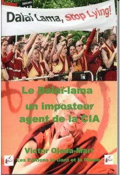 Le 14ième Dalaï Lama un imposteur et agent de la CIA - Couverture Ebook auto édité