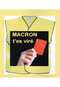 Macron on est là pour un monde meilleur même si tu ne le veux pas - Couverture Ebook auto édité