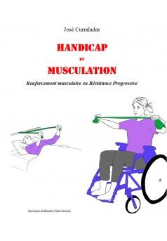 Handicap et musculation - Couverture Ebook auto édité