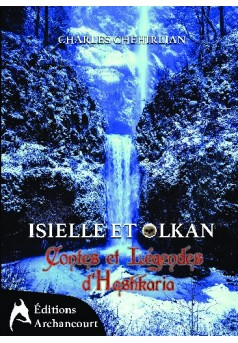 Isielle et Olkan - Couverture de livre auto édité