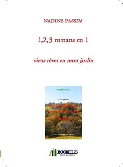 1,2,3 romans en 1 - Couverture de livre auto édité
