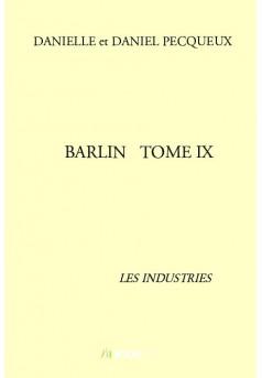BARLIN   TOME IX - Couverture de livre auto édité