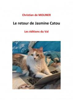 Le retour de Jasmine Catou - Couverture Ebook auto édité