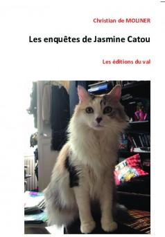 Les enquêtes de Jasmine Catou - Couverture de livre auto édité