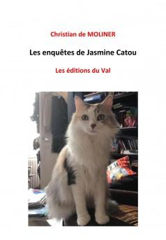 Les enquêtes de Jasmine Catou - Couverture Ebook auto édité