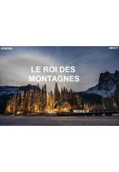 Le roi des montagnes. - Couverture Ebook auto édité