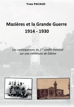Mazières et la Grande Guerre 1914 - 1930