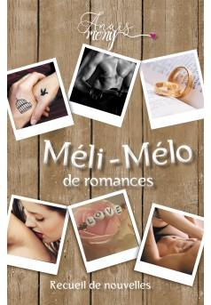 Méli-mélo de romances - Couverture Ebook auto édité
