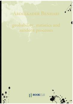 probability, statistics and random processes - Couverture de livre auto édité