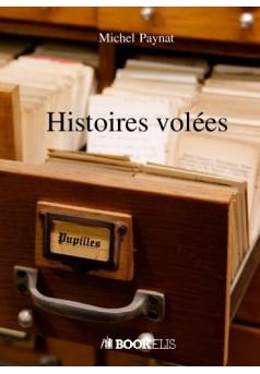 Histoires volées - Couverture de livre auto édité