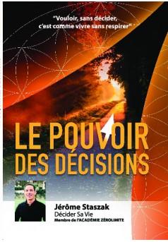 Le Pouvoir des Décisions - Couverture de livre auto édité
