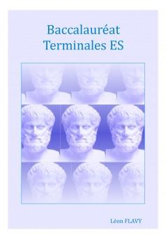 PHILOSOPHIE TERMINALE ES***** - Couverture Ebook auto édité
