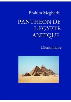 PANTHEON DE L'EGYPTE ANTIQUE - Couverture de livre auto édité