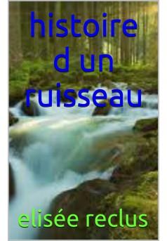 histoire d un ruisseau - Couverture de livre auto édité