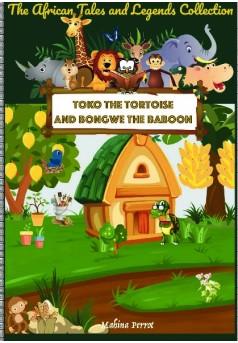Toko the tortoise and Bongwe the baboon