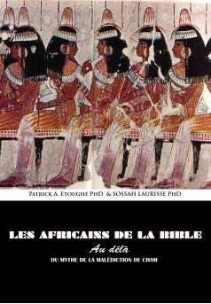 Les Africains de la Bible - Couverture Ebook auto édité