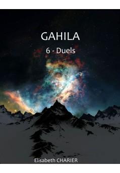 GAHILA tome 6  - Couverture Ebook auto édité