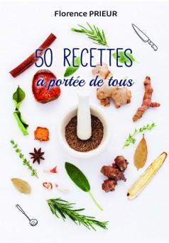 50 recettes à portée de tous - Couverture de livre auto édité