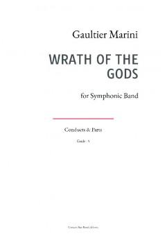 WRATH OF THE GODS - Couverture de livre auto édité
