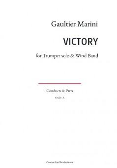 VICTORY - Couverture de livre auto édité