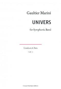 UNIVERS - Couverture de livre auto édité