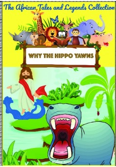 Why does the hippo yawn