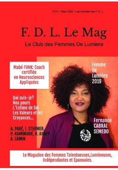 F. D. L. Le Mag Le Club des Femmes De Lumière - Couverture de livre auto édité