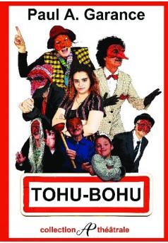 Tohu Bohu - Couverture de livre auto édité