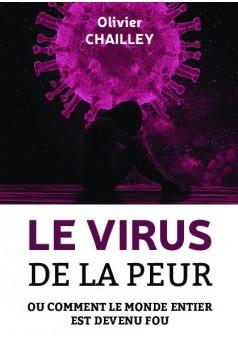 Le virus de la peur - Couverture de livre auto édité