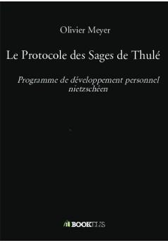 Le Protocole des Sages de Thulé - Couverture de livre auto édité