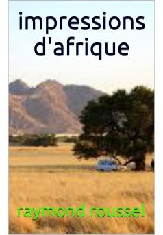 impressions d'afrique - Couverture Ebook auto édité