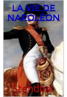 vie de napoléon - Couverture de livre auto édité