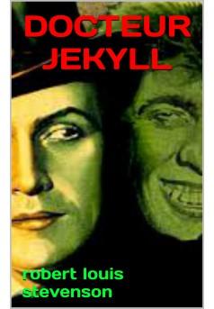 docteur jekyll - Couverture de livre auto édité