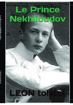 Le Prince Nekhlioudov - Couverture de livre auto édité