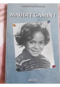 MAUDIT GAMIN ! - Couverture Ebook auto édité