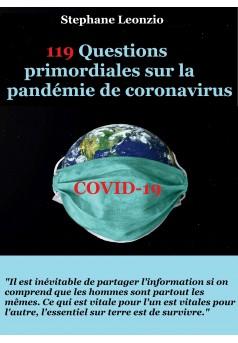 119 Questions primordiales sur la pandémie de coronavirus  - Couverture Ebook auto édité