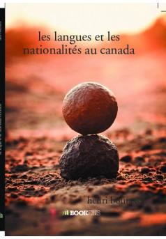 les langues et les nationalités au canada - Couverture de livre auto édité