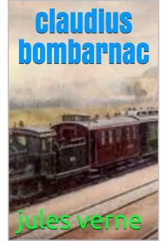 claudius  bombarnac - Couverture de livre auto édité