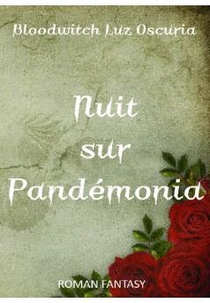 Nuit sur Pandémonia - Couverture de livre auto édité
