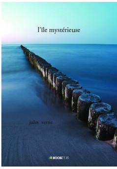 l'île mystérieuse - Couverture de livre auto édité